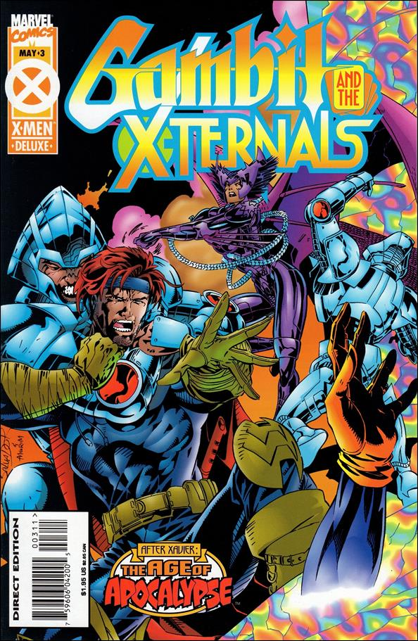 Gambit & the X-Ternals 3-A by Marvel