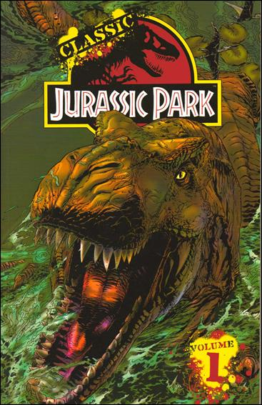 Classic Jurassic Park 1-A by IDW