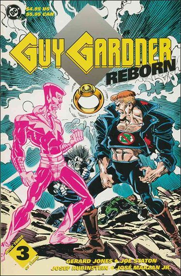 Guy Gardner Reborn 3-A by DC