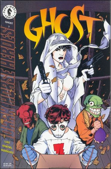 Ghost (1995) 7-A by Dark Horse