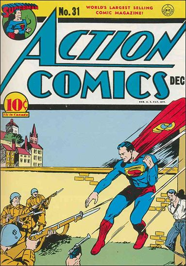 Action Comics (1938) 31-A by DC