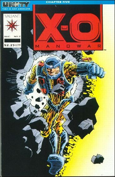 X-O Manowar (1992) 7-A by Valiant
