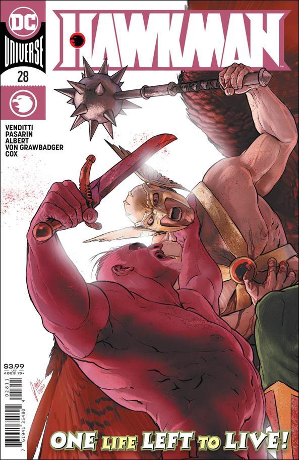 Hawkman (2018) 28-A by DC