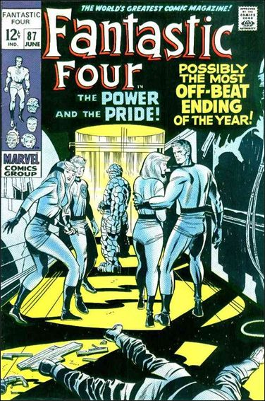 Fantastic Four (1961) 87-A by Marvel
