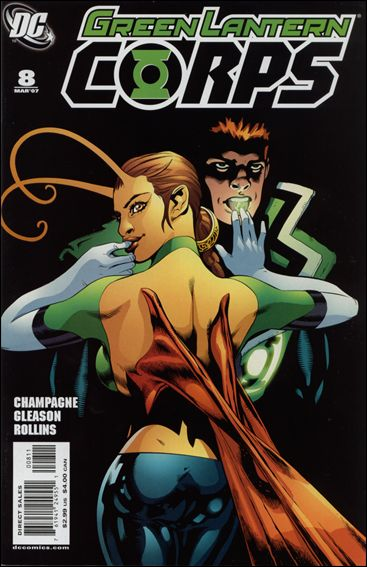 Green Lantern Corps (2006) 8-A by DC