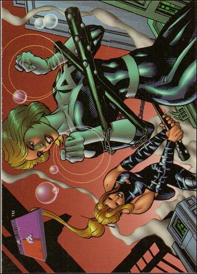 Marvel vs WildStorm (Base Set) 25-A by Fleer/SkyBox