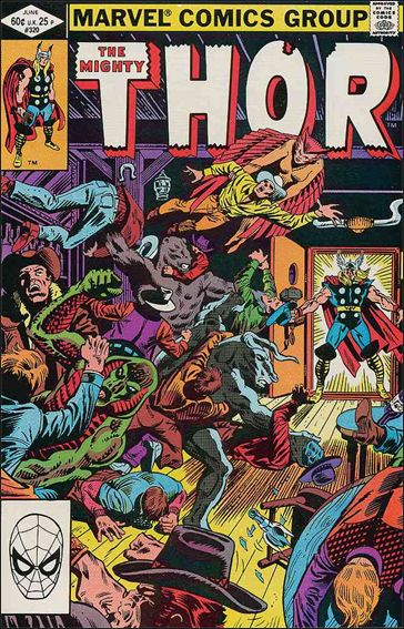 Thor (1966) 320-A by Marvel