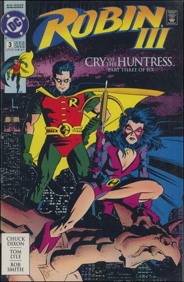Robin III: Cry of the Huntress 3-A by DC