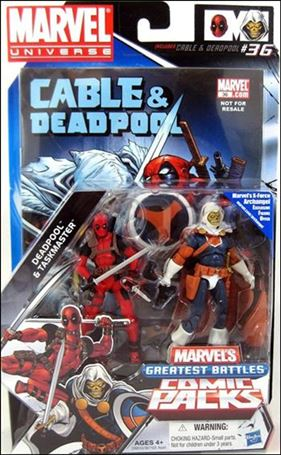 Marvel Universe: Marvel's Greatest Battles (Comic-Packs) Deadpool and Taskmaster