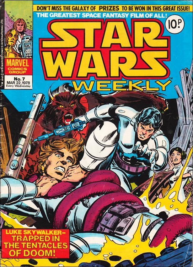 Star Wars Weekly (UK) 7-A by Marvel UK