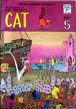 Adventures of Fat Freddy's Cat 5-C