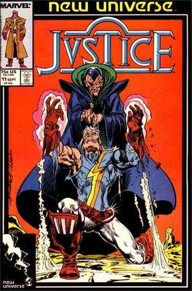 Justice (1986) 11-A by Marvel
