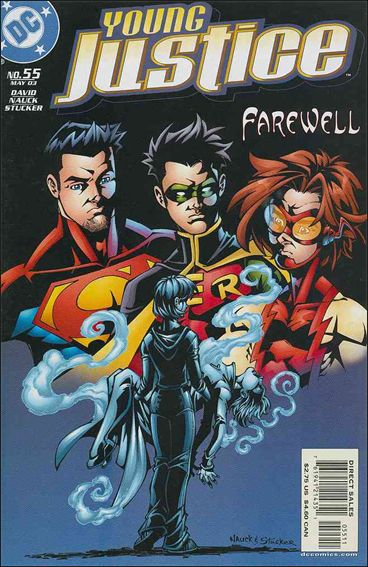 Young Justice (1998) 55-A by DC
