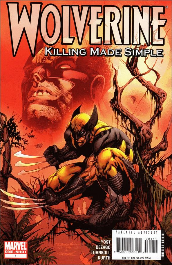 Wolverine: Killing Made Simple 1-A by Marvel