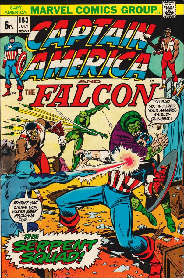 Captain America (1968) 163-B by Marvel