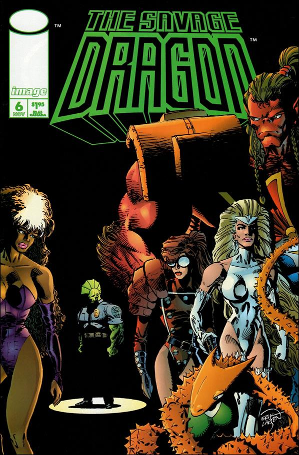 Savage Dragon (1993) 6-A by Image