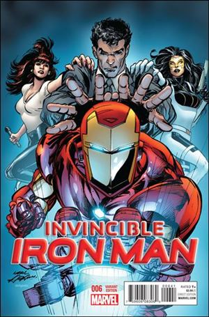 Invincible Iron Man (2015)  6-C