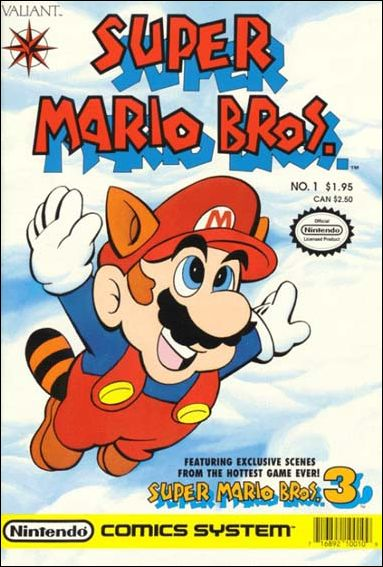 Super Mario Bros. (1990) 1-A by Valiant