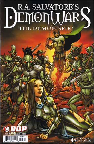 DemonWars The Demon Spirit 2-A by Devil's Due