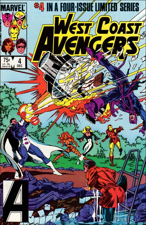 West Coast Avengers (1984) 4-A by Marvel