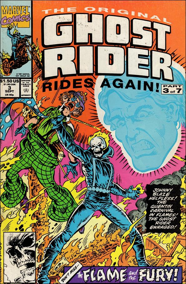 Original Ghost Rider Rides Again 3-A by Marvel