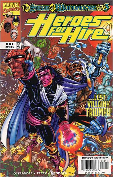 Heroes for Hire (1997) 16-A by Marvel