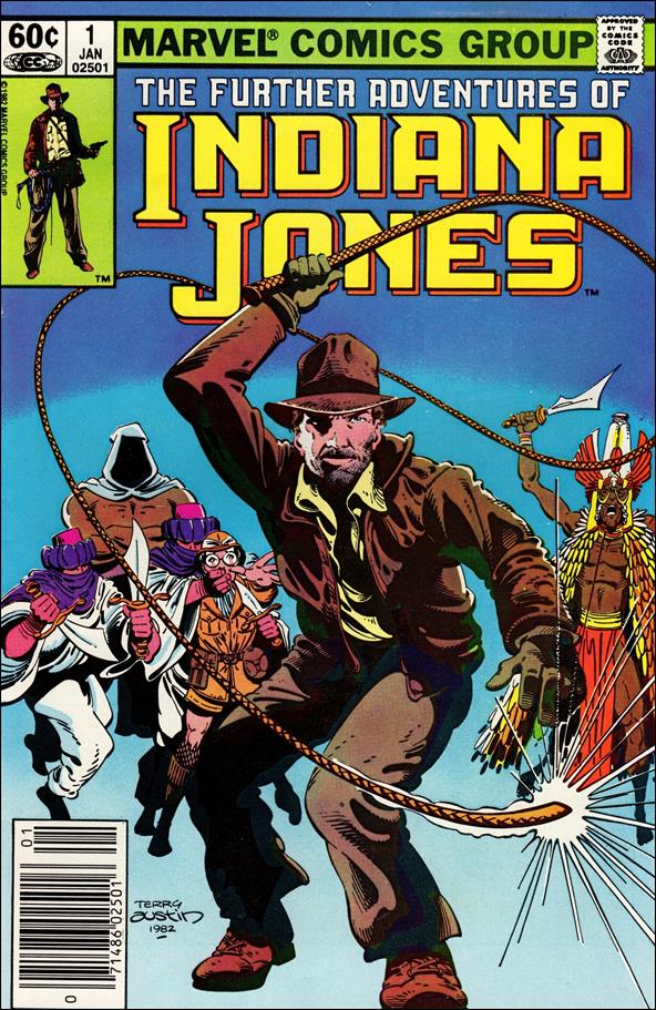 Further Adventures of Indiana Jones 1-A by Marvel