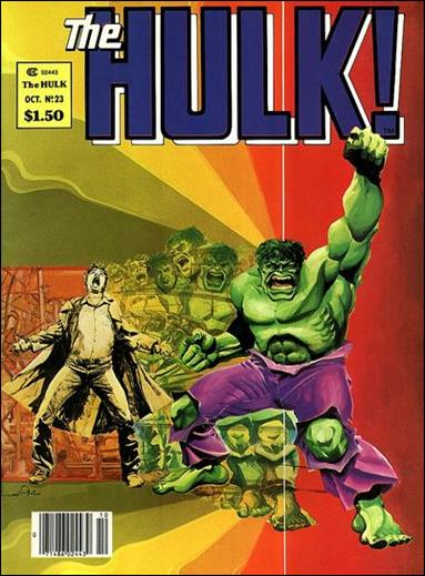 Hulk Magazine 23-A by Marvel