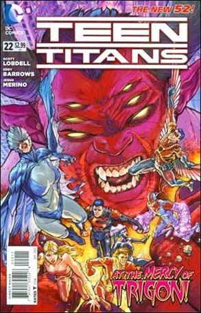 Teen Titans (2011) 22-A