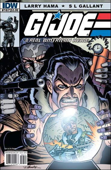 G.I. Joe: A Real American Hero 167-B by IDW