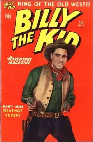 Billy the Kid Adventure Magazine 5-A