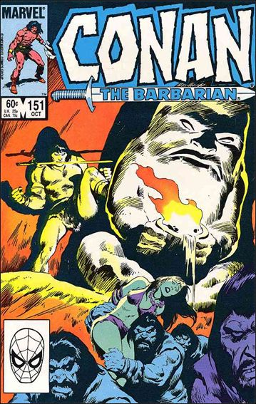 Conan the Barbarian (1970) 151-A by Marvel