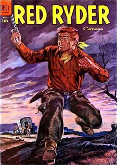 Red Ryder Comics 130-A by Dell