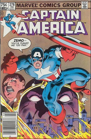 Captain America (1968) 278-B by Marvel