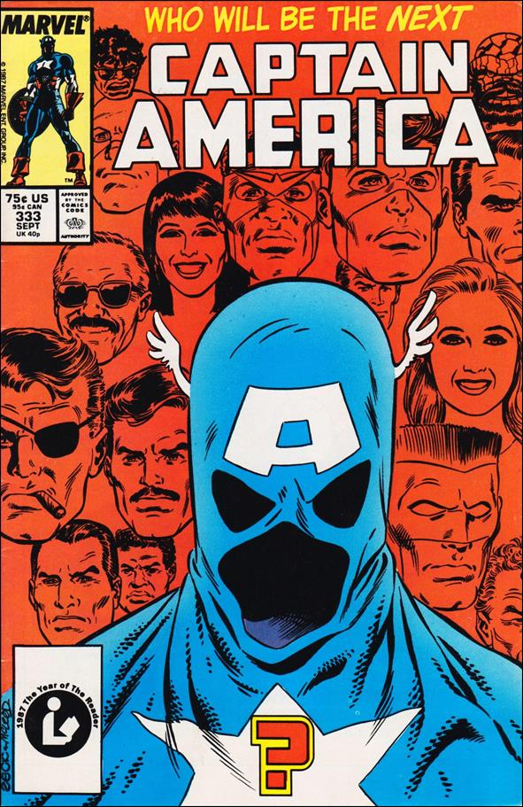 Captain America (1968) 333-A by Marvel