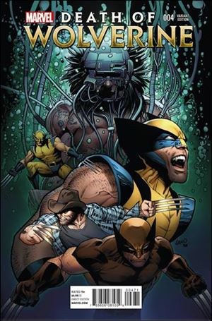 Death of Wolverine 4-D