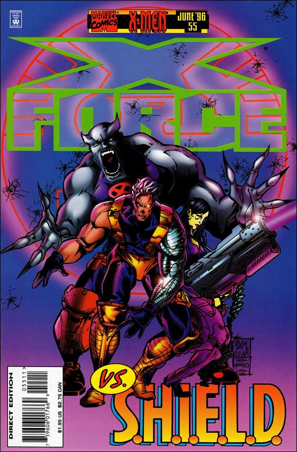 X-Force (1991) 55-A by Marvel