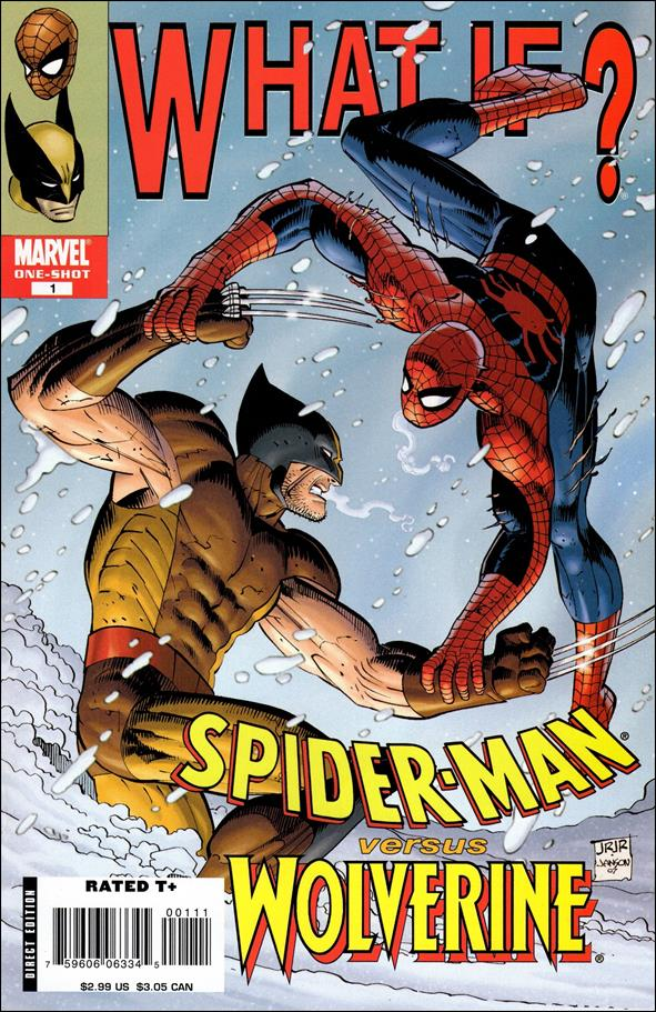 What If? Spider-Man vs Wolverine 1-A by Marvel