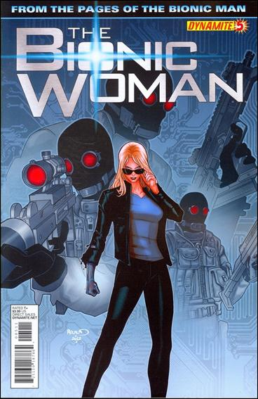 Bionic Woman (2012) 5-A by Dynamite Entertainment