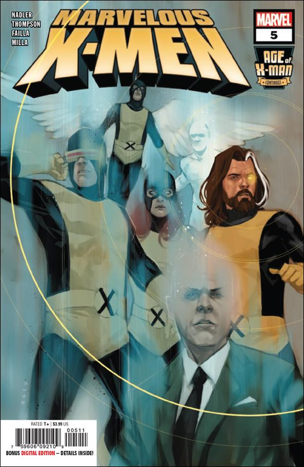 Age of X-Man: Marvelous X-Men 5-A by Marvel