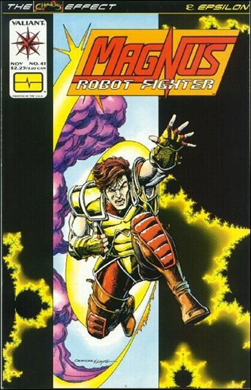 Magnus Robot Fighter (1991) 41-A by Valiant