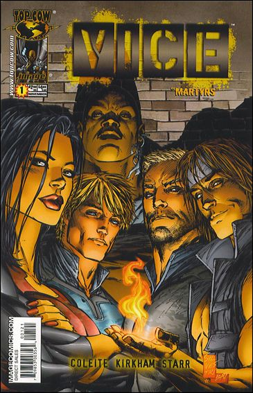 V.I.C.E. 1-A by Top Cow