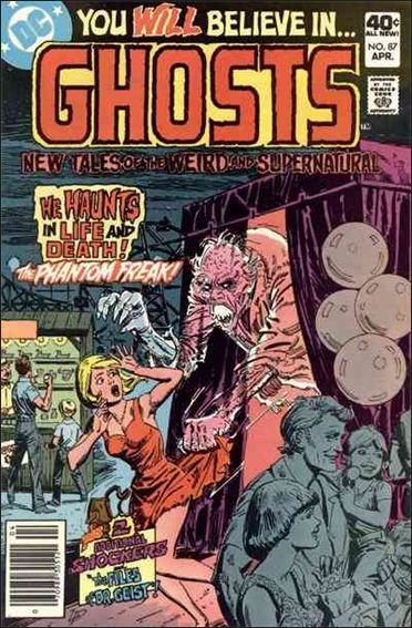 Ghosts (1971) 87-A by DC