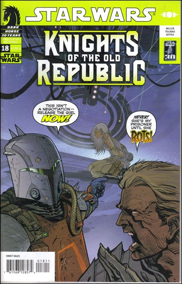 Star Wars: Knights of the Old Republic 18-A by Dark Horse