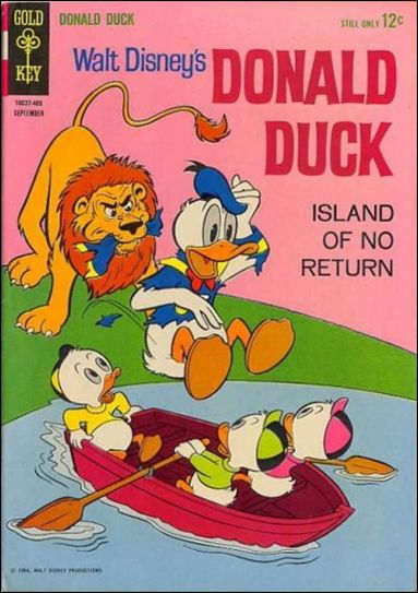 Walt Disney's Donald Duck (1952) 97-A by Gold Key