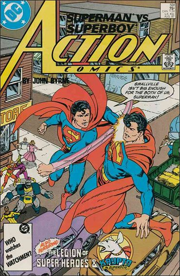 Action Comics (1938) 591-A by DC