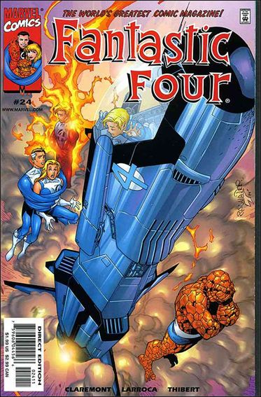 Fantastic Four (1998) 24-A by Marvel