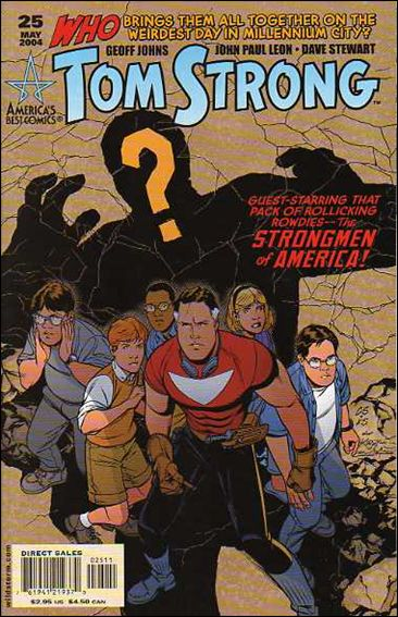 Tom Strong 25-A by America's Best Comics