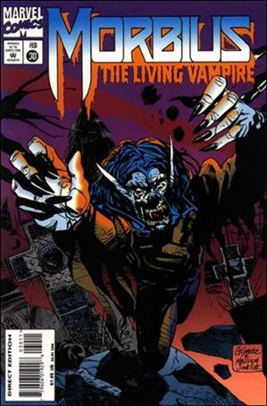 Morbius: The Living Vampire (1992) 30-A