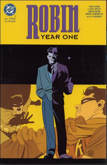 Robin: Year One 2-A by DC